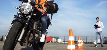 driving school motorcycle test