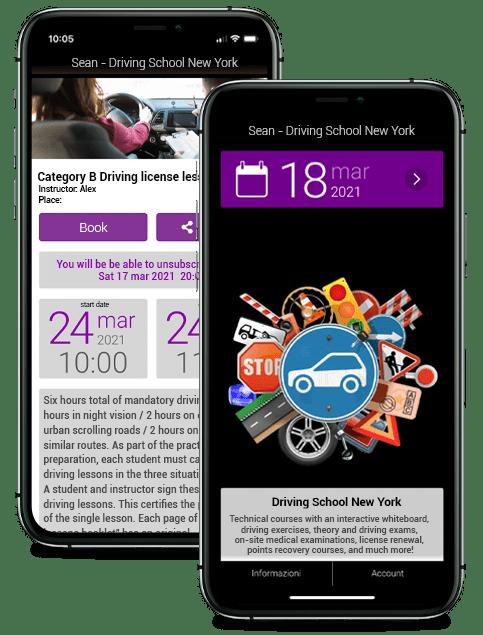 BookyWay per Driving School