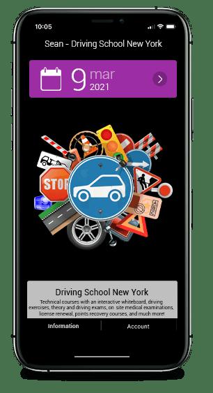 Custom Signs Driving School