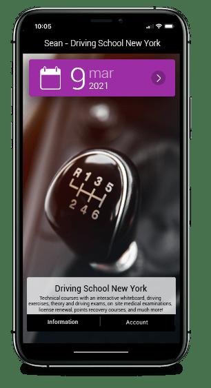 Custom driving school Manual transmission